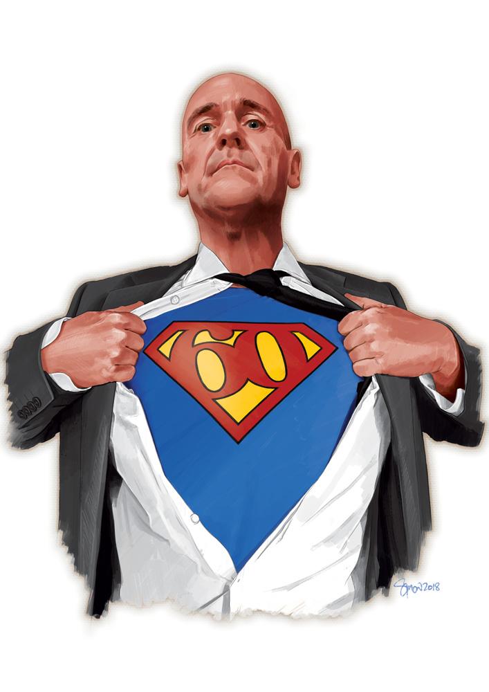 Nigel Curtiss - Super Sixty
